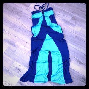 2B Bebe Strapless Maxi Dress